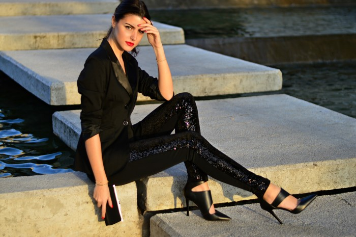 Calzedonia sequin leggings